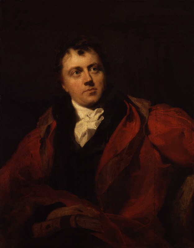 Sir James Mackintosh, by Sir Thomas Lawrence, exhibited 1804 - NPG 45 - © National Portrait Gallery, London