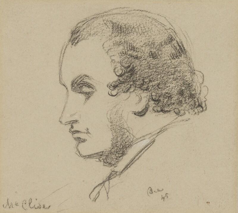Daniel Maclise, by Charles Hutton Lear, 1845 -NPG 1456(20) - © National Portrait Gallery, London
