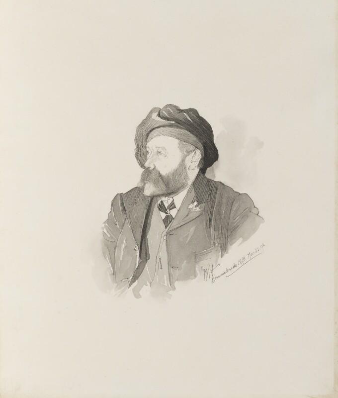 William McTaggart, by Walker Hodgson, 1892 -NPG 4041(2) - © National Portrait Gallery, London