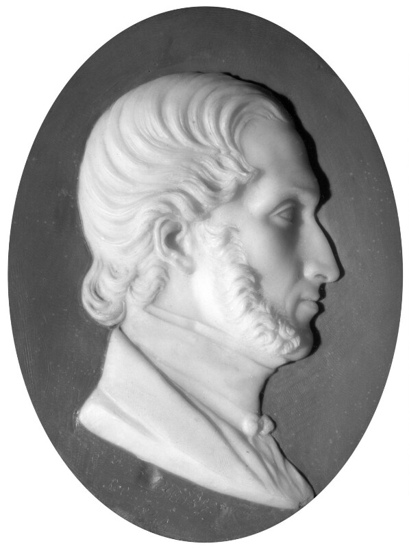 Sir Frederic Madden, by Richard Cockle Lucas, 1849 - NPG 1979 - © National Portrait Gallery, London