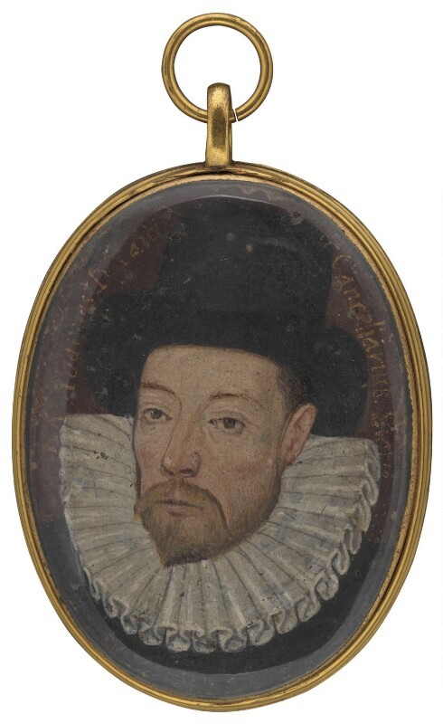 John Maitland, 1st Baron Maitland, by Unknown artist, circa 1588 - NPG 2769 - © National Portrait Gallery, London