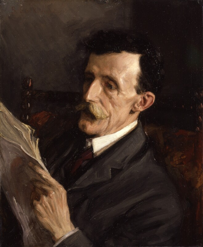 Frederic William Maitland, by Beatrice Lock (Mrs Fripp), 1906 - NPG 1966 - © National Portrait Gallery, London