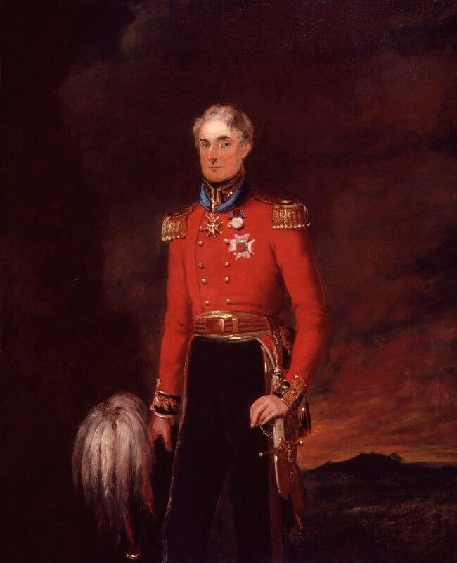 Sir Peregrine Maitland, by William Salter, 1834-1840 -NPG 3736 - © National Portrait Gallery, London