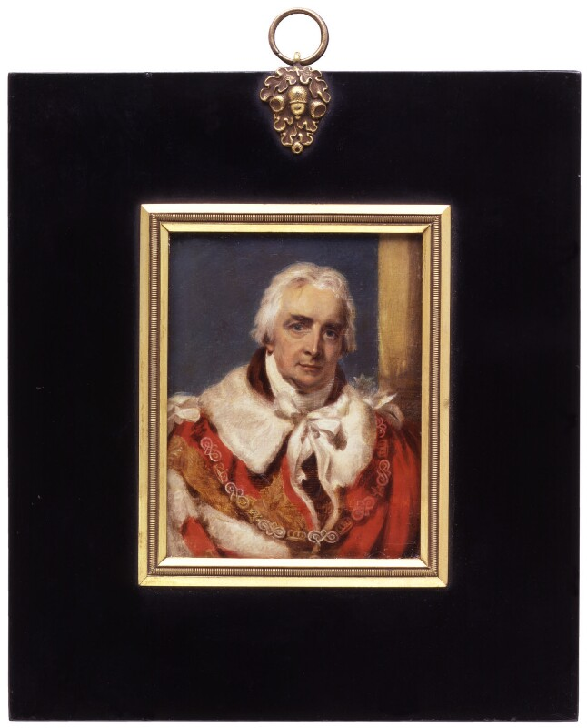 James Harris, 1st Earl of Malmesbury, by Charles (Cantelowe, Cantlo) Bestland, after  Sir Thomas Lawrence, 1807, based on a work of circa 1806 - NPG 6291 - © National Portrait Gallery, London
