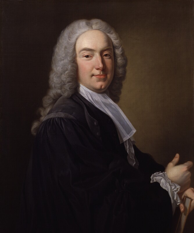William Murray, 1st Earl of Mansfield, by Jean Baptiste van Loo, circa 1737 - NPG 474 - © National Portrait Gallery, London