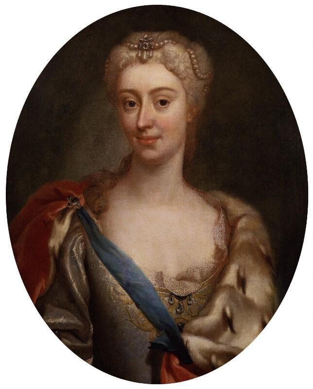 Maria Clementina Sobieska, by Unknown artist, circa 1719 - NPG 1262 - © National Portrait Gallery, London