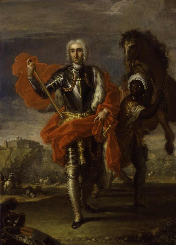 George Keith, 10th Earl Marischal and his groom, possibly Ibrahim, by Placido Costanzi, circa 1733 -NPG 552 - © National Portrait Gallery, London
