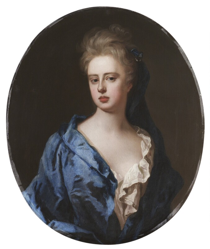 Unknown woman, formerly known as Sarah Churchill (née Jenyns (Jennings)), Duchess of Marlborough, by Michael Dahl, circa 1700 - NPG 712 - © National Portrait Gallery, London