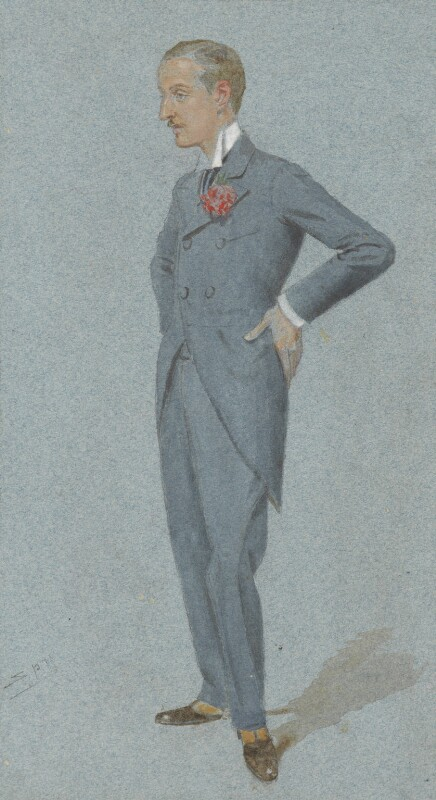 Charles Richard John Spencer-Churchill, 9th Duke of Marlborough, by Sir Leslie Ward, published in Vanity Fair 22 September 1898 - NPG 2965 - © National Portrait Gallery, London