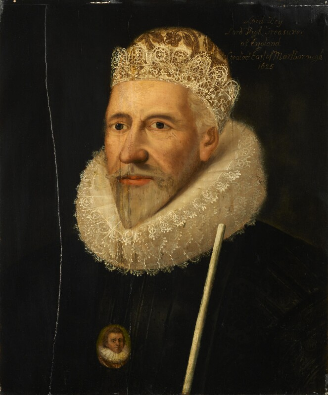 James Ley, 1st Earl of Marlborough, by Unknown artist, after 1624 - NPG 1258 - © National Portrait Gallery, London