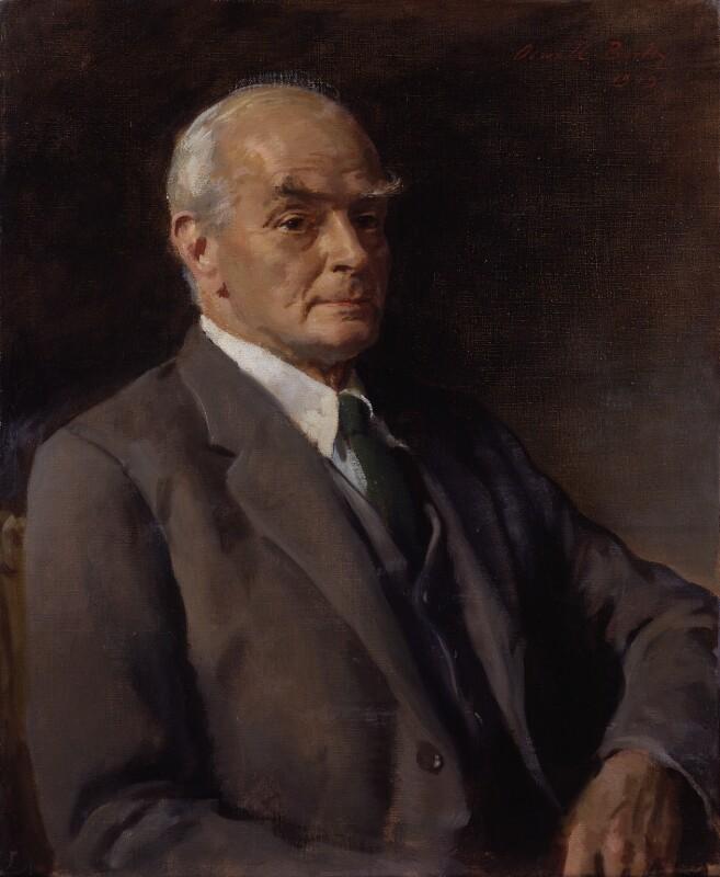 Sir Edward Howard Marsh, by Sir Oswald Birley, 1949 - NPG 3945 - © National Portrait Gallery, London