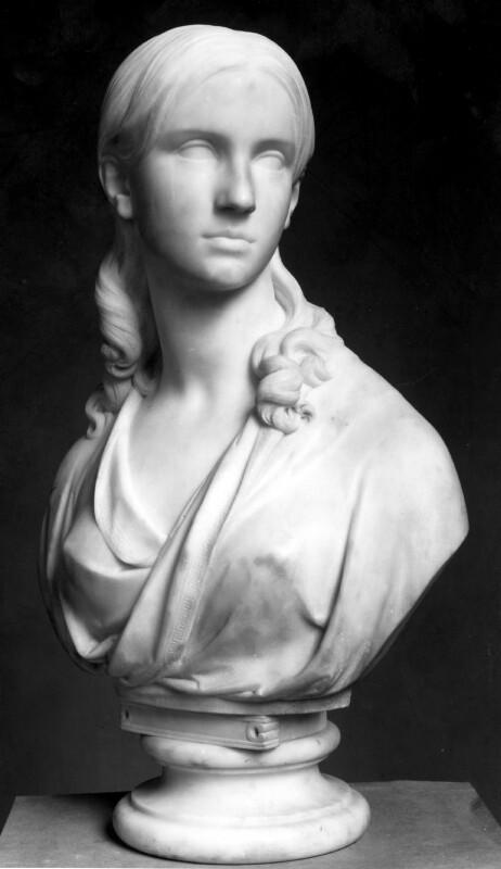 Helen Faucit (Helena (née Faucit Saville), Lady Martin), by John Henry Foley, 1843 - NPG 1554 - © National Portrait Gallery, London