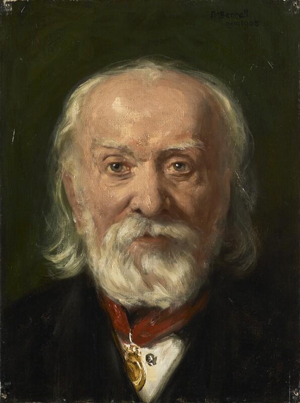Sir Theodore Martin, by Frank Moss Bennett, 1908 - NPG 1555 - © estate of Frank Moss Bennett