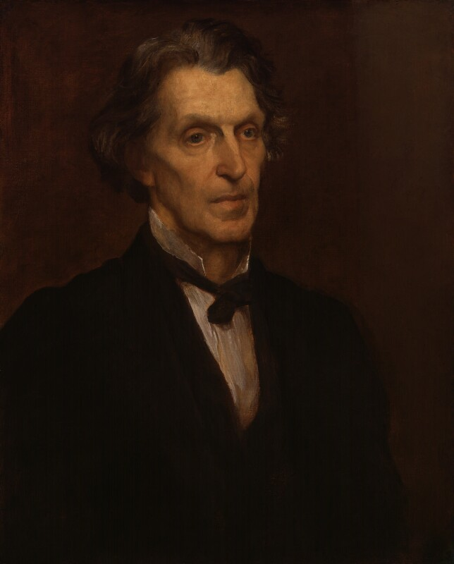 James Martineau, replica by George Frederic Watts, 1873, based on a work of 1873 - NPG 1251 - © National Portrait Gallery, London