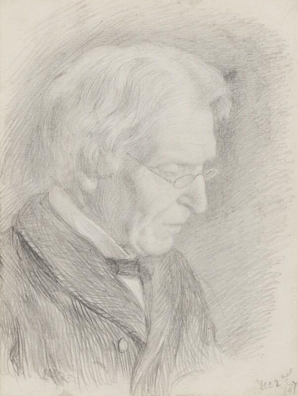 James Martineau, by Clara Martineau (née Fell), 1887 - NPG 2526 - © National Portrait Gallery, London
