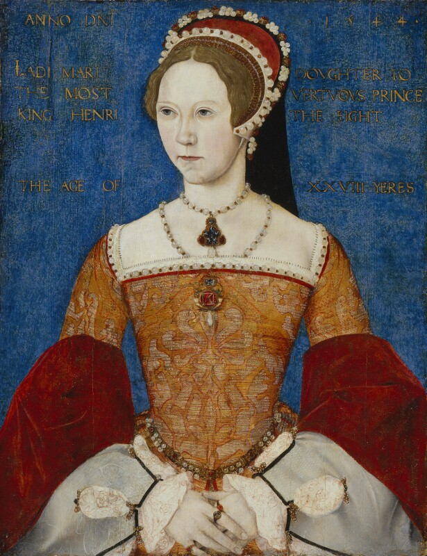 Queen Mary I, by Master John, 1544 - NPG 428 - © National Portrait Gallery, London