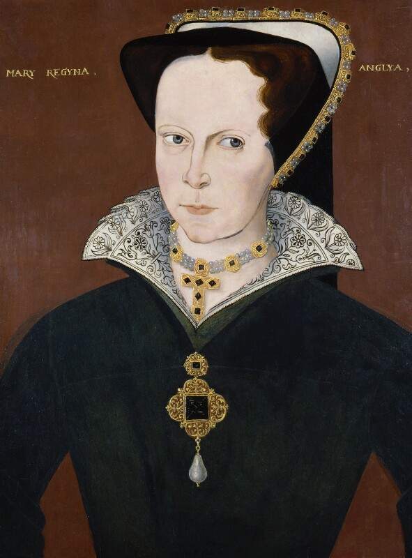 Queen Mary I, by Unknown artist, 1597-1618 - NPG 4980(16) - © National Portrait Gallery, London