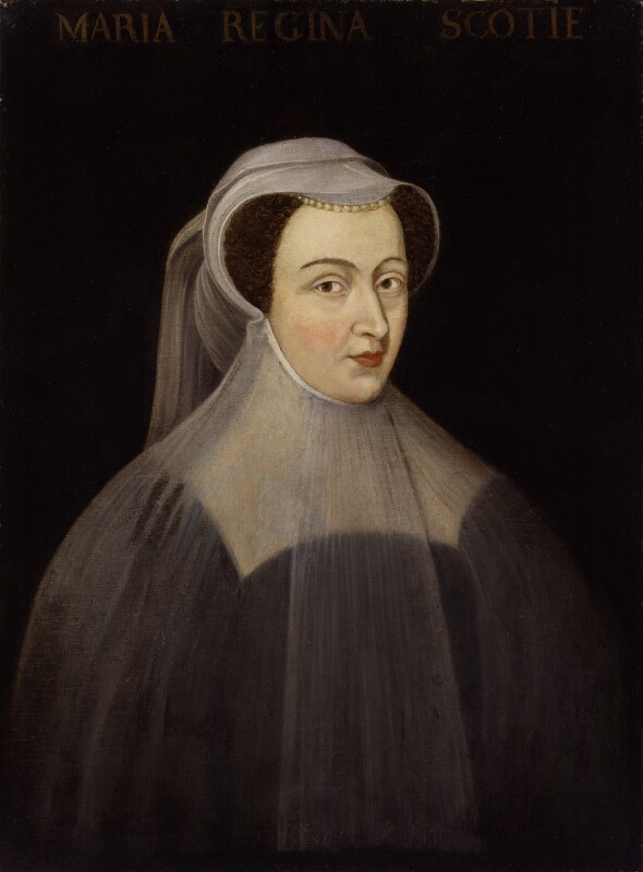 Mary, Queen of Scots, after François Clouet, probably 17th century, based on a work of 1559 - NPG 555 - © National Portrait Gallery, London
