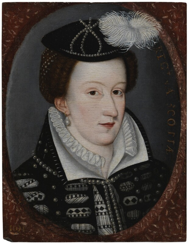 Mary, Queen of Scots, by Unknown artist, circa 1560-1592 - NPG 1766 - © National Portrait Gallery, London