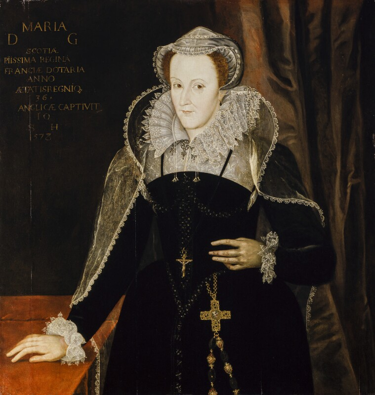 Mary, Queen of Scots, after Nicholas Hilliard, inscribed 1578 - NPG 429 - © National Portrait Gallery, London