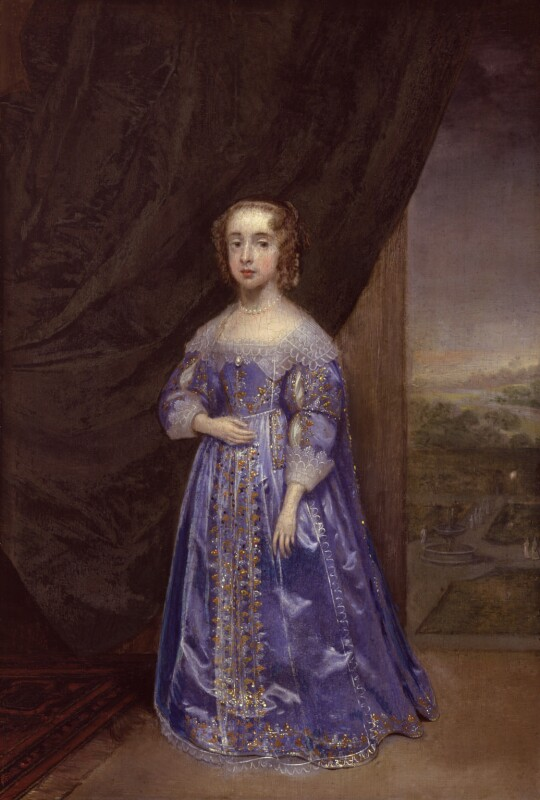 Mary, Princess of Orange, by Cornelius Johnson, 1639 - NPG 5105 - © National Portrait Gallery, London