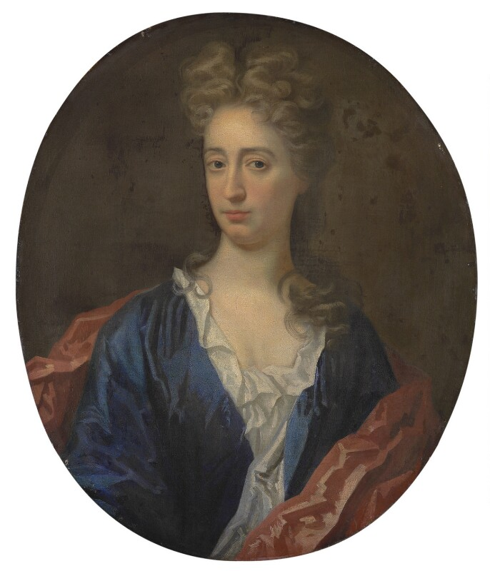 Unknown woman, formerly known as Abigail (née Hill), Lady Masham, by Unknown artist, circa 1700 - NPG 1494 - © National Portrait Gallery, London