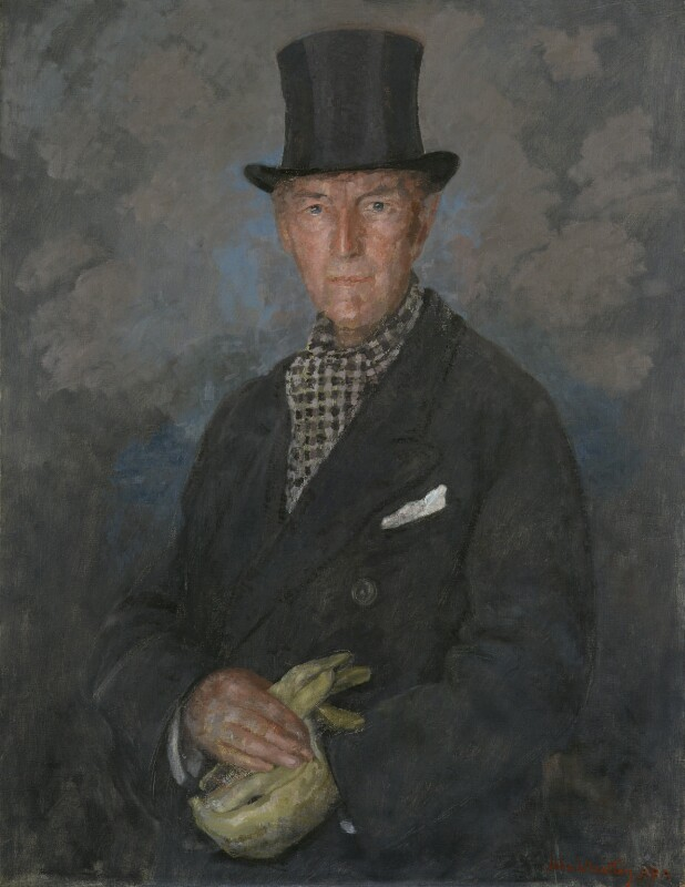 Sir Edward Brantwood Maufe (formerly Muff), by John Laviers Wheatley, exhibited 1956 - NPG 5155 - © reserved; collection National Portrait Gallery, London