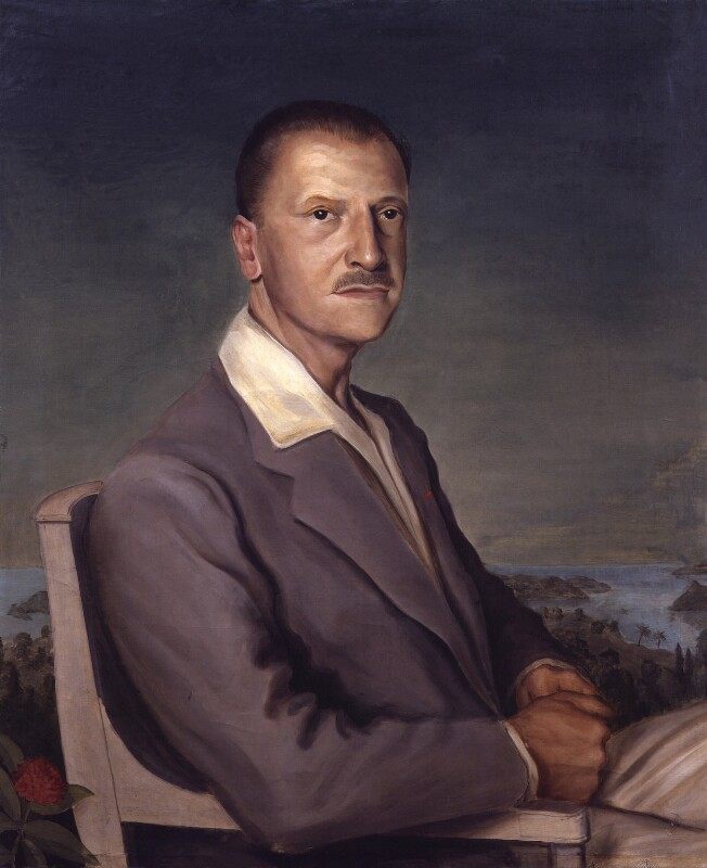 Somerset Maugham, by Philip Steegman, 1931 - NPG 4524 - © National Portrait Gallery, London