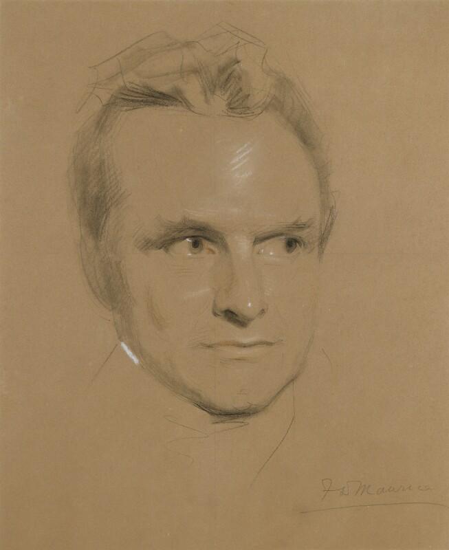(John) Frederick Denison Maurice, by Samuel Laurence, circa 1846 - NPG 1709 - © National Portrait Gallery, London