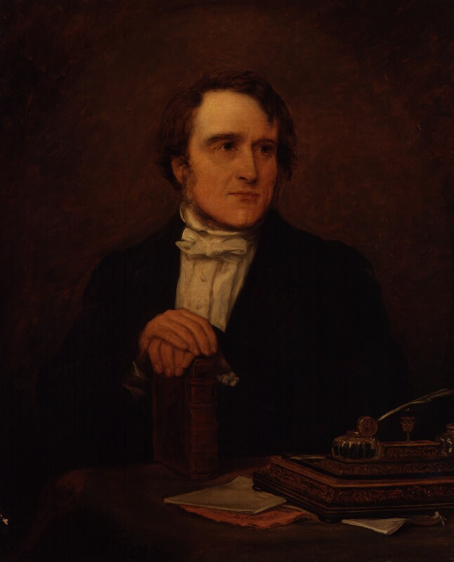 (John) Frederick Denison Maurice, by Jane Mary Hayward, 1854 - NPG 354 - © National Portrait Gallery, London