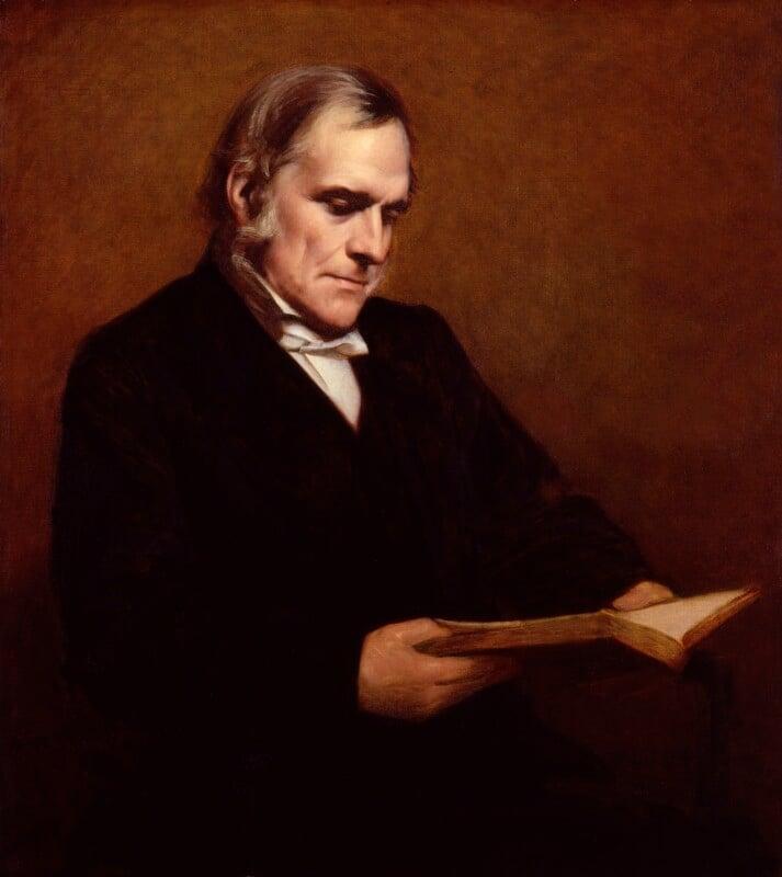 (John) Frederick Denison Maurice, by Samuel Laurence, exhibited 1871 -NPG 1042 - © National Portrait Gallery, London