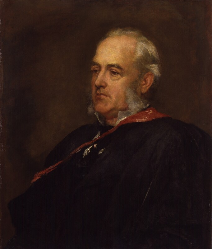Friedrich Max-Müller, by George Frederic Watts, 1894-1895 - NPG 1276 - © National Portrait Gallery, London