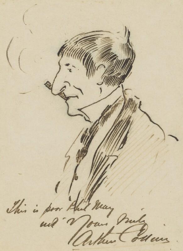 Phil May, by Arthur Pelham Collins, circa 1900-1903 -NPG 2751 - © National Portrait Gallery, London