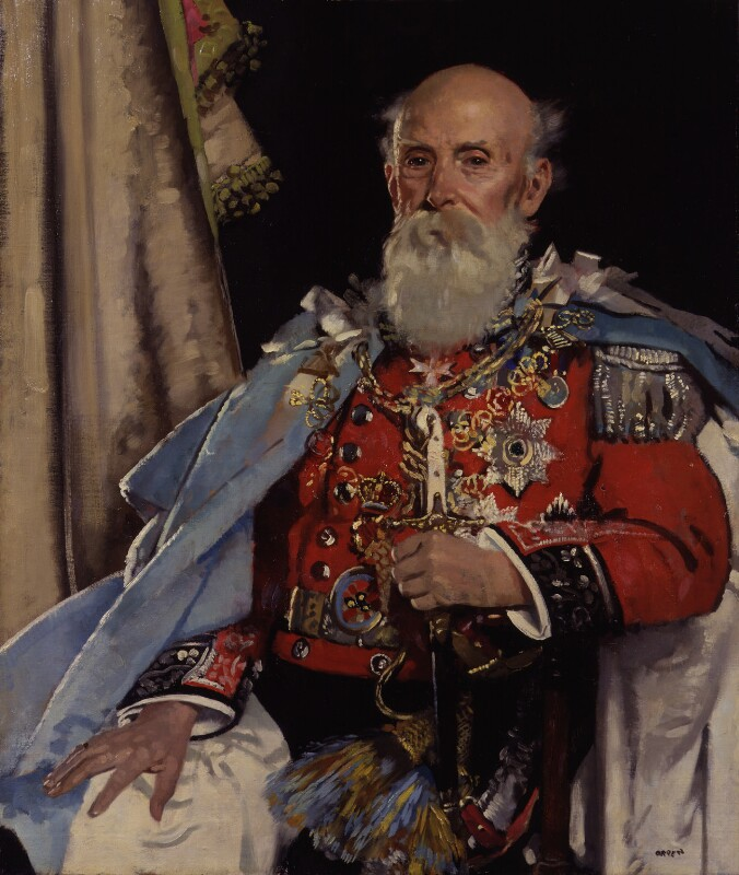 Reginald Brabazon, 12th Earl of Meath, by Sir William Orpen, exhibited 1929 - NPG 2624 - © National Portrait Gallery, London