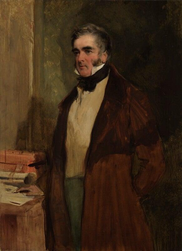 William Lamb, 2nd Viscount Melbourne, by Sir Edwin Henry Landseer, 1836 - NPG 3050 - © National Portrait Gallery, London