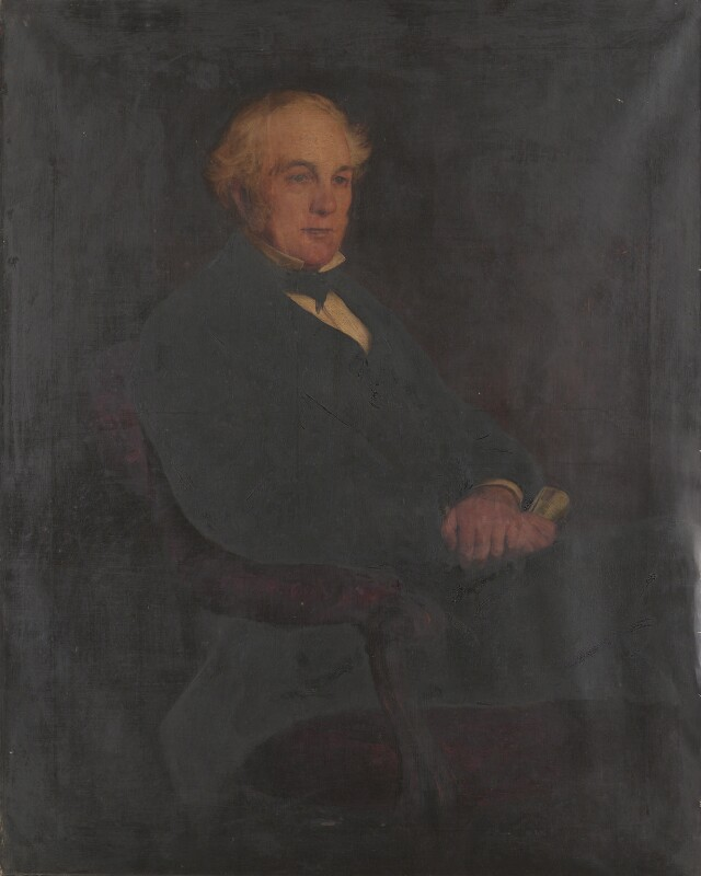 Sir James Cosmo Melvill, by John James Napier, exhibited 1858 - NPG 4825 - © National Portrait Gallery, London