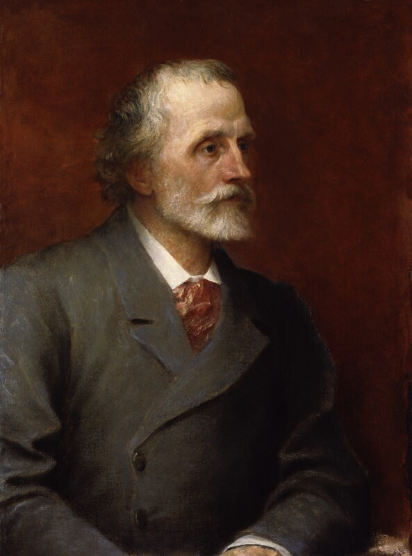 George Meredith, by George Frederic Watts, 1893 - NPG 1543 - © National Portrait Gallery, London