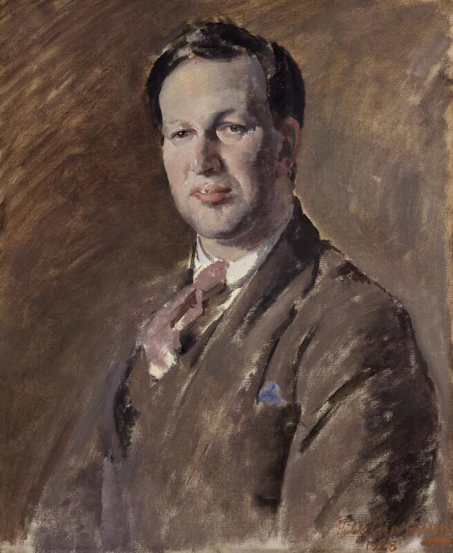 Edward Meyerstein, by Philip Connard, 1928 - NPG 4326 - © reserved; collection National Portrait Gallery, London