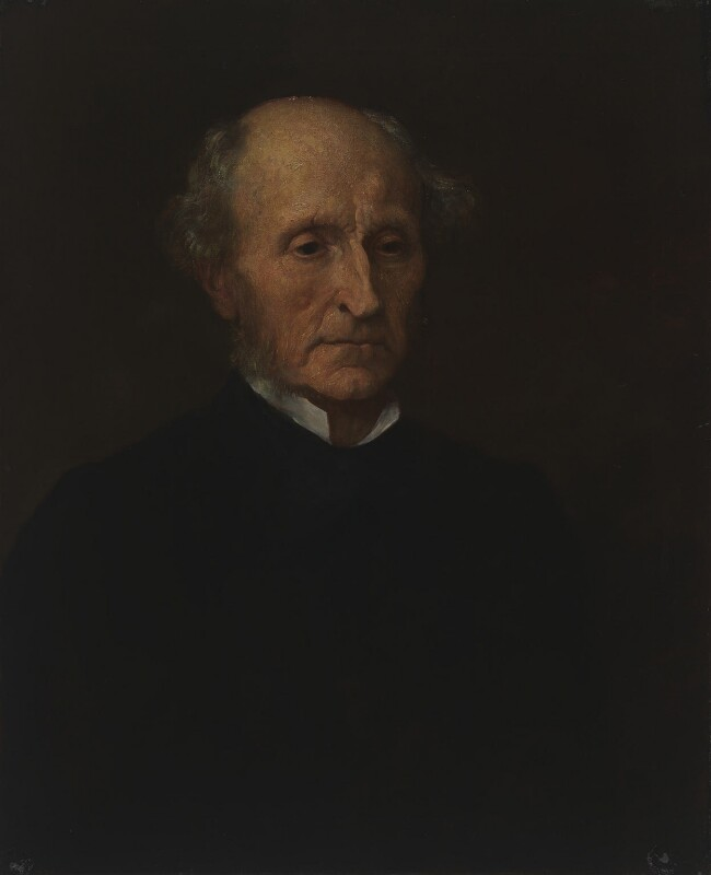 John Stuart Mill, replica by George Frederic Watts, 1873 - NPG 1009 - © National Portrait Gallery, London