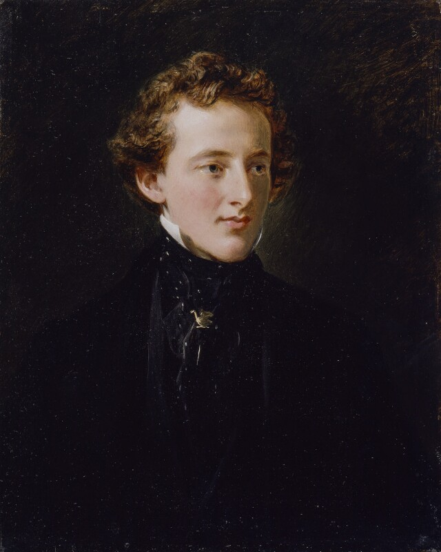 Sir John Everett Millais, 1st Bt, by Charles Robert Leslie, 1852 -NPG 1859 - © National Portrait Gallery, London