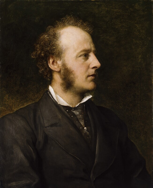 Sir John Everett Millais, 1st Bt, by George Frederic Watts, 1871 - NPG 3552 - © National Portrait Gallery, London