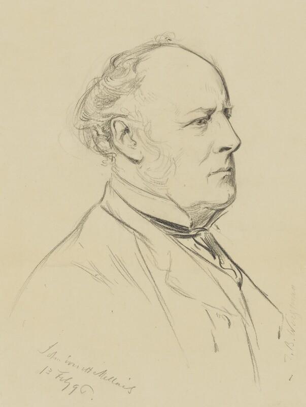 Sir John Everett Millais, 1st Bt, by Theodore Blake Wirgman, 1896 - NPG 1711 - © National Portrait Gallery, London