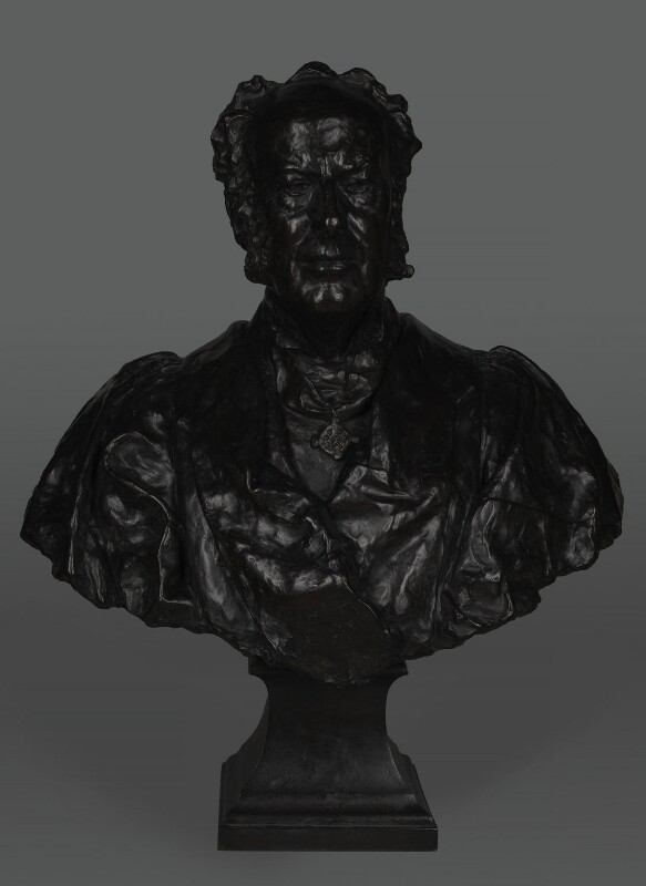 Sir John Everett Millais, 1st Bt, by (Edward) Onslow Ford, 1923 - NPG 1329a - © National Portrait Gallery, London