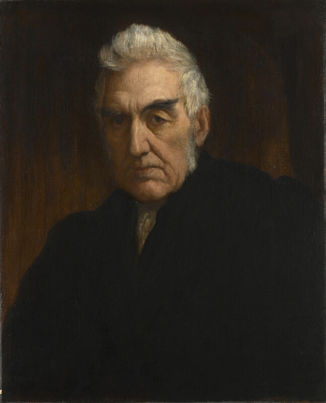 Henry Hart Milman, by George Frederic Watts, circa 1863 - NPG 1324 - © National Portrait Gallery, London