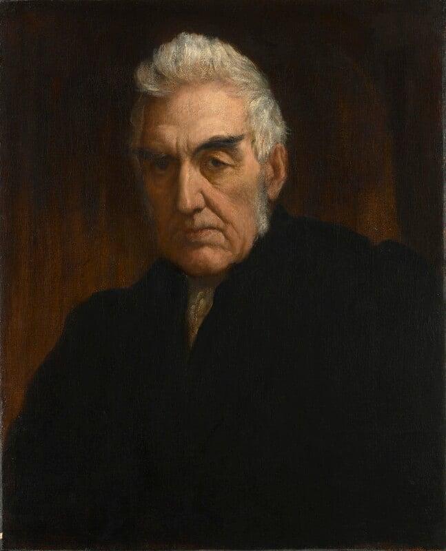Henry Hart Milman, by George Frederic Watts, circa 1863 - NPG 1324 - © National Portrait Gallery, London