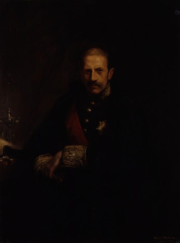 Alfred Milner, Viscount Milner, by Hugh de Twenebrokes Glazebrook, 1901 - NPG 2135 - © National Portrait Gallery, London