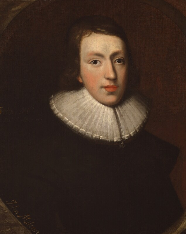 John Milton, by Unknown artist, circa 1629 - NPG 4222 - © National Portrait Gallery, London