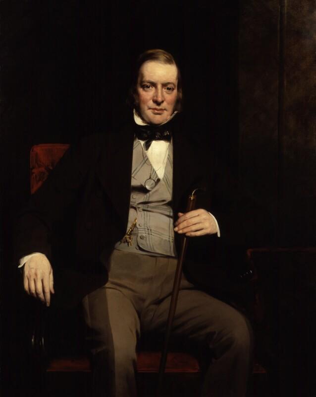 Sir William Molesworth, 8th Bt, by Sir John Watson-Gordon, 1854 - NPG 810 - © National Portrait Gallery, London
