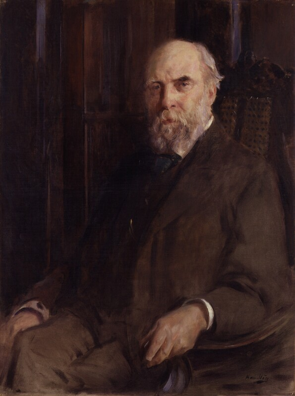 William Cosmo Monkhouse, by John McLure Hamilton, exhibited 1899 - NPG 1868 - © National Portrait Gallery, London
