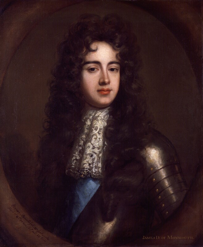 James Scott, Duke of Monmouth and Buccleuch, possibly after Willem Wissing, based on a work of circa 1683 - NPG 151 - © National Portrait Gallery, London
